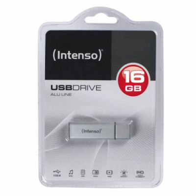 Intenso AluLine USB Drive 16GB_0